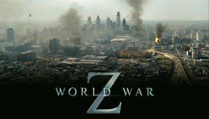 Um cartaz do filme mostra  o caos que toma conta da cidade por causa dos zumbis. Fonte: Reprodução/Divulgação